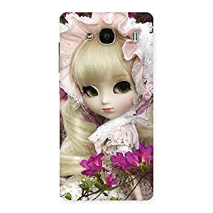Cute Looks Of Angel Doll Multicolor Back Case Cover for Redmi 2