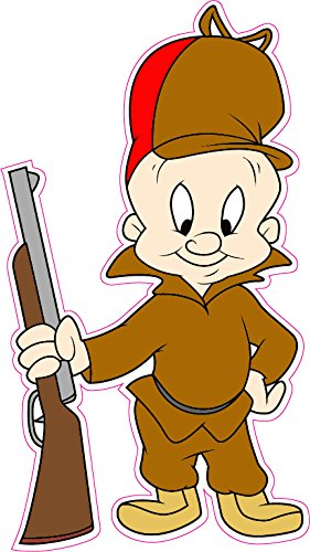 elmer-fudd-decal-5-free-shipping-in-the-united-states