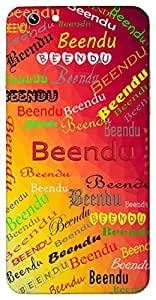 Beendu (Star) Name & Sign Printed All over customize & Personalized!! Protective back cover for your Smart Phone : Samsung Galaxy Note-4