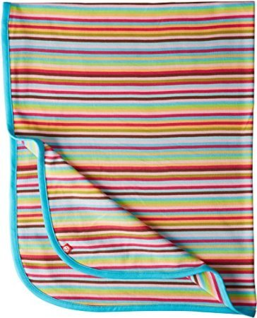 Zutano Baby-Girls Newborn Super Stripe Swaddle Blanket