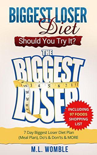 The Biggest Loser Diet: Should You Try It?: Including 97 Foods Shopping List, 7 Day Biggest Loser Diet Plan (Meal Plan), Do's & Don'ts & MORE (Biggest Loser Books, Biggest Loser Breakfast) PDF