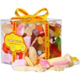 Retro Sweets and Candy Penny Mix Gift Cube - A Great Birthday Gift For Anyone