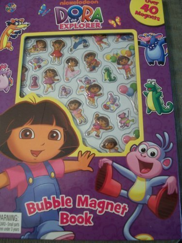 Dora the Explorer Bubble Magnet Book - 1