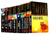 Wilbur Smith Wilbur Smith 9 Books Collection Pack Set RRP: £69.91 (Shout at the Devil, The Diamond Hunter, Men Of Men, Gold Mine, Eagle in the Sky, Sparrow Falls: AND Diamond Hunters, Seventh Scroll: AND Gold Mine, The Burning Shore, Elephant Song)