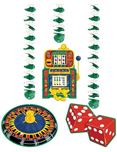 Casino Dangling Cutouts (3 per package)