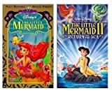 The Little Mermaid (Fully Restored Special Edition) VHS / The Little Mermaid II: Return to the Sea VHS
