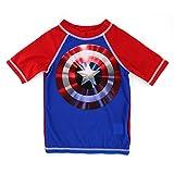 Captain America Boys Rashguard Swimwear