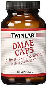 DMAE (Dimethylaminoethanol) 100mg Twinlab, Inc 100 Caps