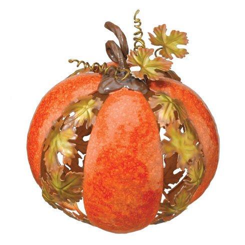 Harvest Metal Pumpkin