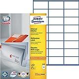 Avery Zweckform 3475 Adressetiketten 100 Blatt weiß
