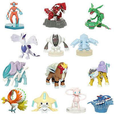 Buy Pokemon Legendary Figure Bundle: 13 Legendary Pokemon Characters for one great deal!