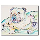 Trademark Art Ophelia Canvas Art by Pat Saunders White, 18 by 24-Inch