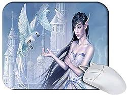 Snoogg Elf Girl Non Slip Rubber Mouse Pad