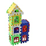 Cartoon&coser Big House Blocks Set, Building Blocks And Stacking Blocks, DIY Building And Stacking T