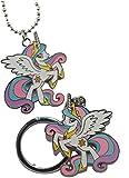 My Little Pony Friendship is Magic Princess Celestia Necklace & Key Chain