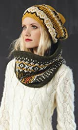 Aerin Fair Isle Snood Ivy