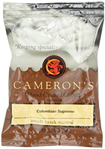 CAMERON'S Ground Coffee, Colombian Supremo, 1.75-Ounce (Pack of 24)