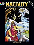 img - for Nativity Stained Glass Coloring Book (Holiday Stained Glass Coloring Book) (Vol i) book / textbook / text book