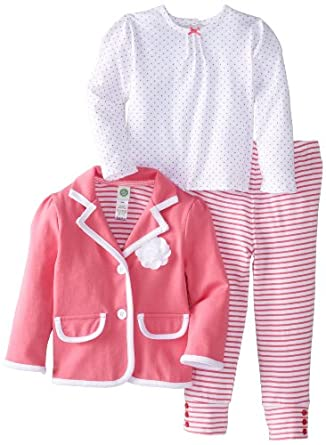 Amazon Little Me Baby Girls Infant Pink Blazer 3