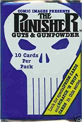 1992 The Punisher Guts & Gunpowder Trading Card Booster Pack