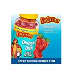 L'il Critters Omega-3 DHA Chewable Gummy Fish for Children - 180 Gummy Fish