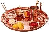 Borosil Puja Thali (Copper)