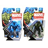 Abominations Blue and Green Marvel Universe #019 Action Figures