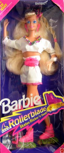 "Vintage Collectable Barbie ""Rollerblade"" doll - Circa 1991"