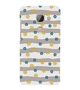 Floral Pattern 3D Hard Polycarbonate Designer Back Case Cover for LeEco Le Max 2 :: LeTV Max 2