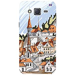 City - Mobile Back Case Cover For Samsung Galaxy J2 (2016)