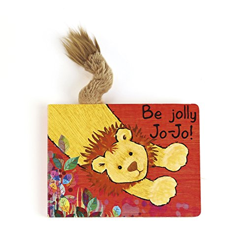 Jellycat Board Books, Be Jolly Jo-Jo - 1