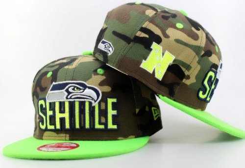 Seattle Seahawks 9FIFTY Snapback Hats 021 at Amazon.com