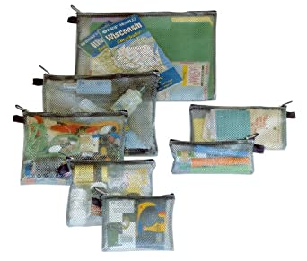 Click to read our review of  Travelon Set of 7 Packing Envelopes!