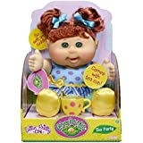 Cabbage Patch Kids Tea Party Toddler Doll, Red Hair, Green Eyes, Caucasian by Jakks Pacific