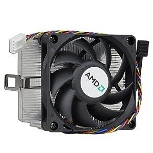 "AMD Socket AM3/AM2+/AM2/1207/939/940/754 Heat Sink & 2.75"" Fan w/4-Pin Connector up to Athlon II X4 2.9GHz"