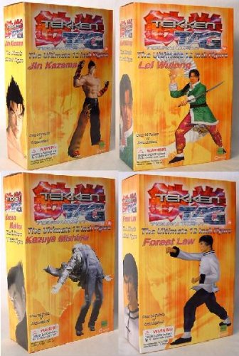 "Tekken Tag Tournament 12"" Figure Set Of 4"