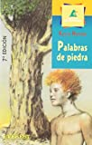 img - for Palabras de piedra book / textbook / text book
