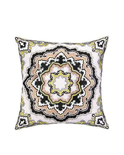 Nanette Lepore Villa Paisley Medallion Embroidered Pillow, Multi