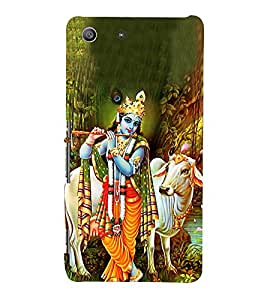 Lord Krishnayya 3D Hard Polycarbonate Designer Back Case Cover for Sony Xperia M5 Dual E5633 E5643 E5663 :: Sony Xperia M5 E5603 E5606 E5653