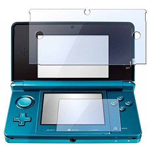 Everydaysource® 2 Pack of 2-in-1 Clear Reusable Screen Protector LCD Film Cover Compatible With Nintendo 3DS hp pavilion dv6699et special edition laptop lcd screen 15 4 wxga ccfl single substitute replacement lcd screen only not a laptop