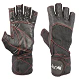 AEROFIT GYM/FITNESS GLOVES BLACK A1-02-2011