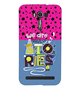 PRINTSHOPPII QUOTES Back Case Cover for Asus Zenfone 2 Laser ZE550KL::Asus Zenfone 2 Laser ZE550KL (5.5 Inches)
