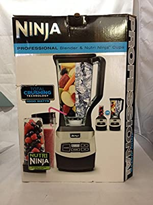 Ninja Professional Blender & Nutri Ninja Cups - 1000 Watts - BL660WM from Euro-Pro