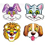 LAXMI COLLECTION (PACK OF 10) 3D MASK FOR KIDS, RETURN GIFT FOR KIDS BIRTHDAY PARTY (FOR MORE GIFT SEARCH FOR...