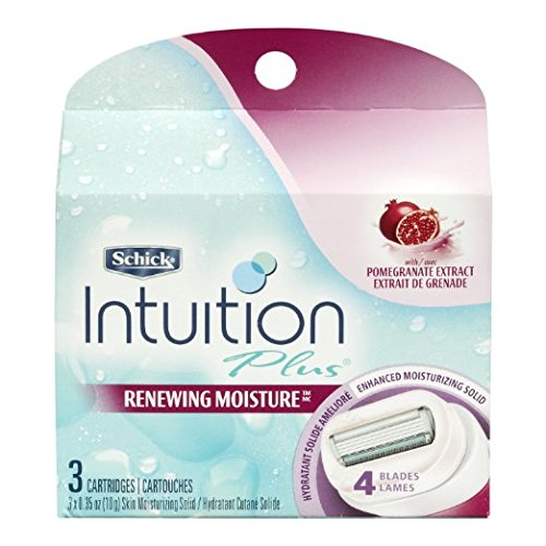 schick-intuition-plus-renewing-bikini-razor-refill-pomegranate-3-count-pack-of-3