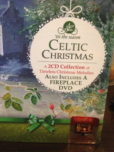'Tis The Season Celtic Christmas 2 CD / 1 DVD Collection of Timeless Christmas Melodies - Includes 2 Cds of Timeless Christmas Melodies and Fireplace DVD (Fireplace Cds compare prices)