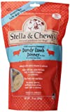 Stella & Chewys Freeze Dried Dog Food for Adult Dogs, Lamb Patties, 16 Ounce Bag