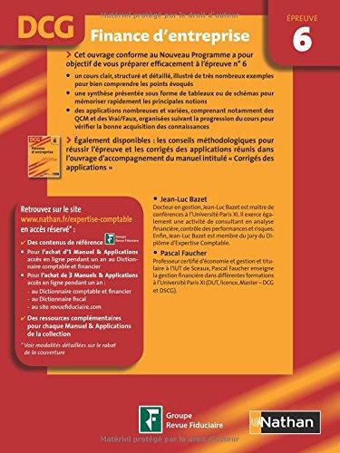 dcg 6 finance d entreprise pdf