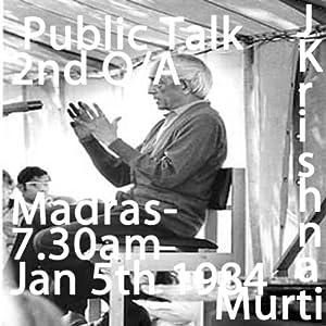 J Krishnamurti Madras 2nd Question and Answer Session 5th Jan 1984 7.30 am | [Jiddu Krishnamurti]