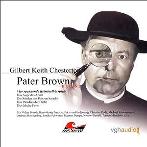 Vier Kriminalgeschichten - Pater Brown (Edition 2) Hörspiel